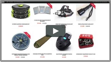 Shopify Automated Product Catalog