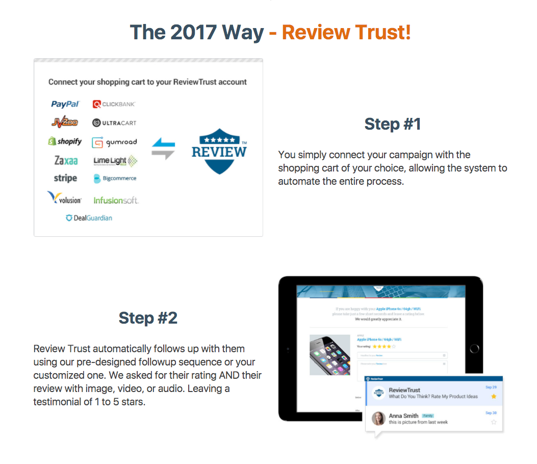 Review Trust - Social Proof Software